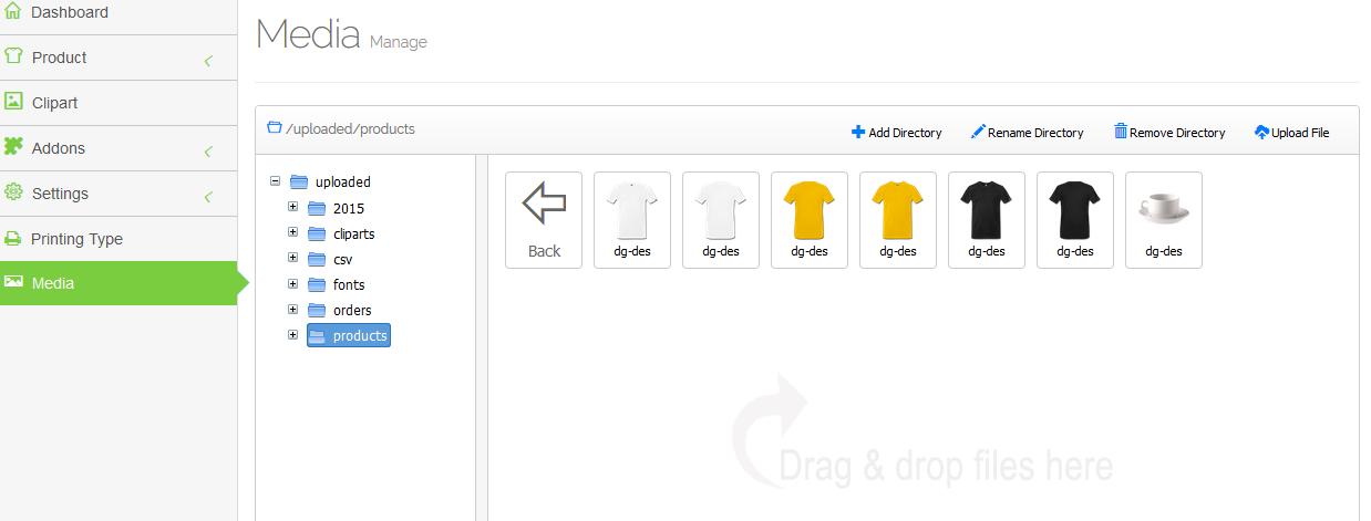 On a testé :  WooCommerce Custom Product Designer –  Plugin de personnalisation de produits