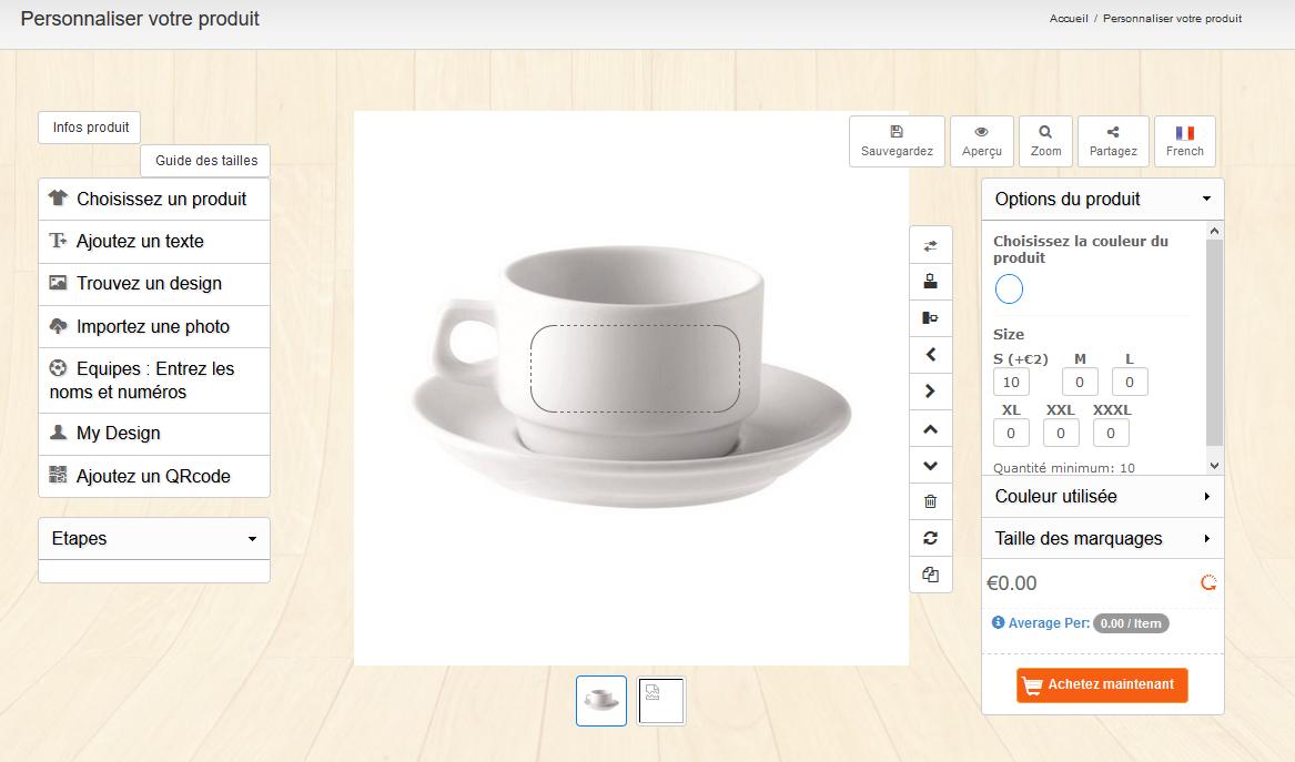 WooCommerce Custom Product Designer : Utilisation coté client
