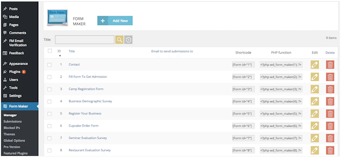 Débuter avec les plug-ins de formulaires de contact pour WordPress
