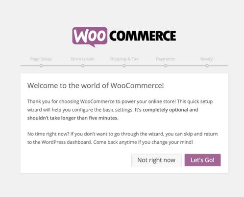 Installer ou désinstaller WooCommerce