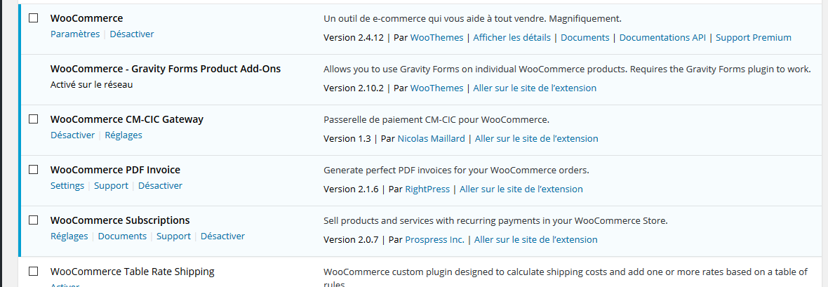 Comment installer un plugin Woocommerce