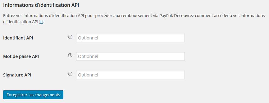 Mode de payement Paypal