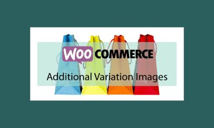 WooCommerce Additional Variation Images – Ajouter des images à la galerie d'un produit