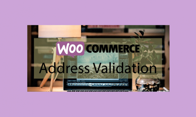 Plugin woocommerce Address Validation