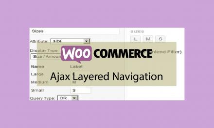 Plugin woocommerce Ajax Layered Navigation – Filtre de recherche