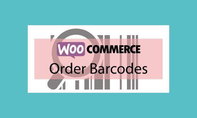 WOOCOMMERCE Order Barcodes – Générateur de codes-barres