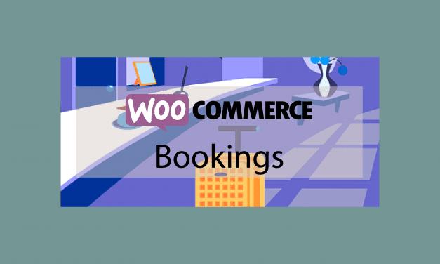 WooCommerce Bookings – Créez des produits réservables en ligne