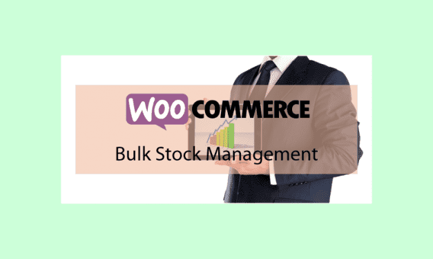 Woocommerce Bulk Stock Management – Gestion des stocks en masse