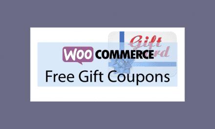 Woocommerce Free Gift Coupons – Cartes cadeau gratuits