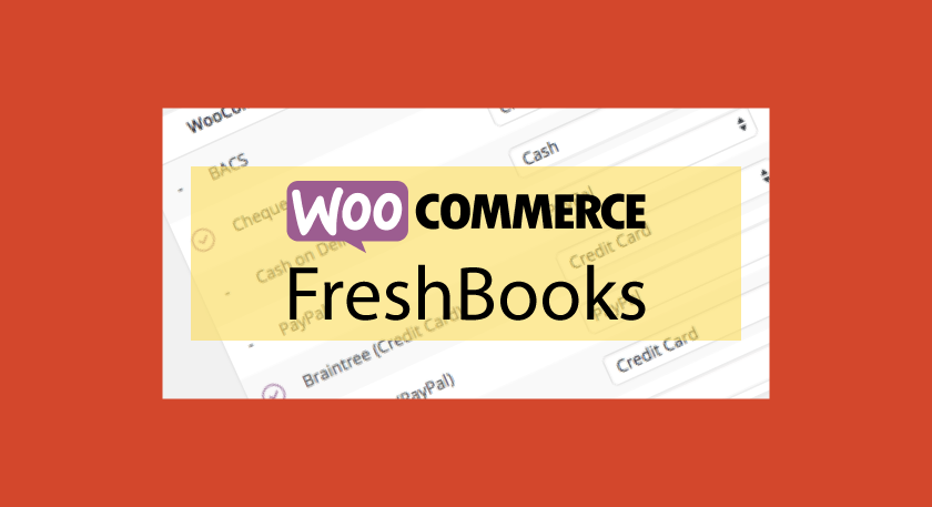 WOOCOMMERCE FreshBooks – Factures PDF