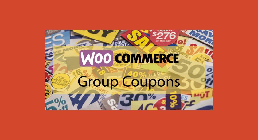 Woocommerce Group Coupons – Offrir des coupons de réduction à vos clients