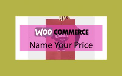 Woocommerce Name Your Price – Prix flexible sur vos produits