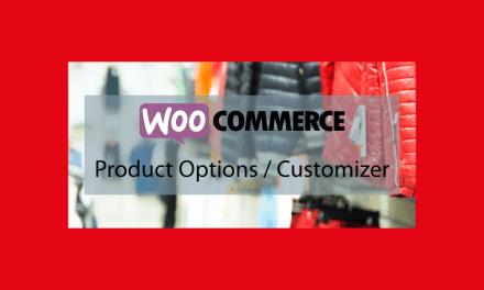 Plugin WooCommerce : WooCommerce Product Options / Customizer – Options et customisation de vos produits