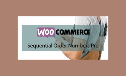 Woocommerce Sequential Order Numbers Pro – Numéros de commande personnalisés
