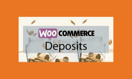 WooCommerce Deposits – Déposer un acompte