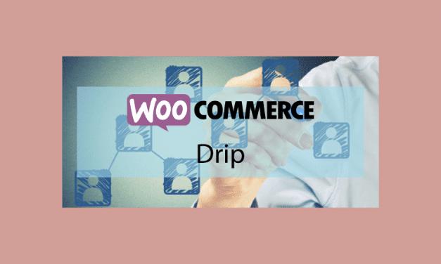 WooCommerce Drip – Améliorer votre boutique e-commerce avec Drip