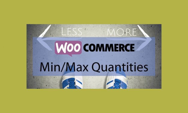 Woocommerce Min/Max Quantities