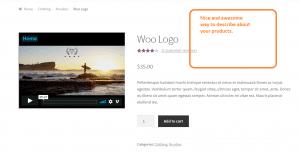 Plugin WooCommerce Product Featured Video : des vidéos sur vos fiches produits