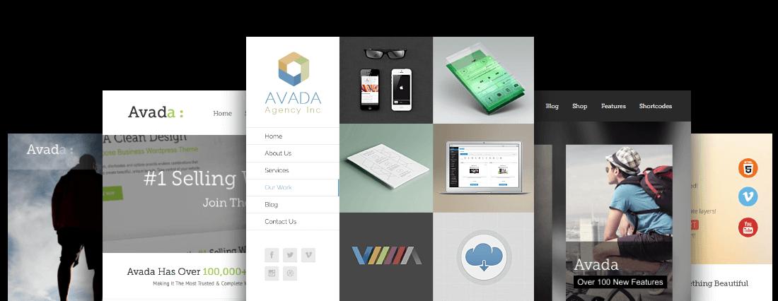 Thème WordPress WooCommerce : Avada