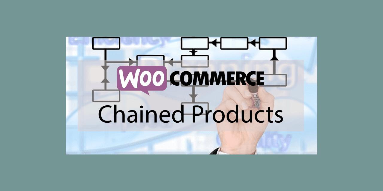 Woocommerce Chained Products–Rabais sur un lot de produits