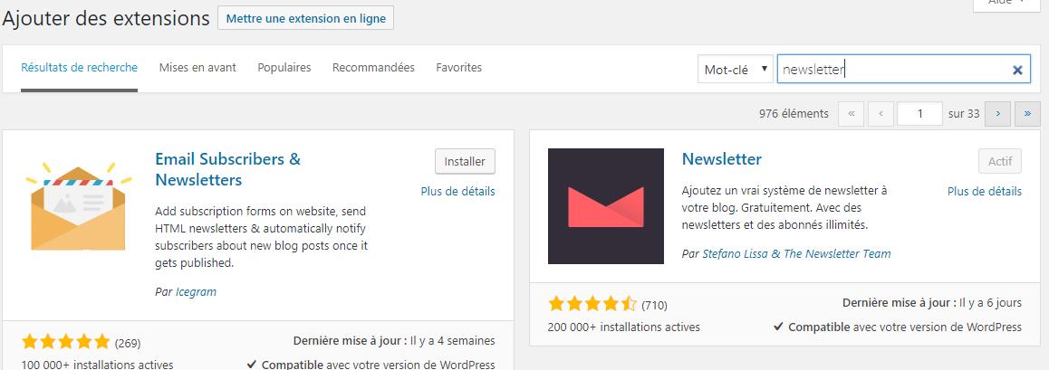 On a testé : The NewsLetter plugin : le plugin qui permet de gérer ses campagnes Email