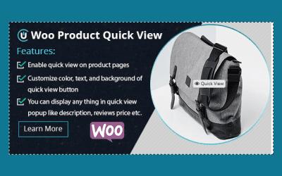 WooCommerce Product Quick View – Aperçu rapide du produit WooCommerce