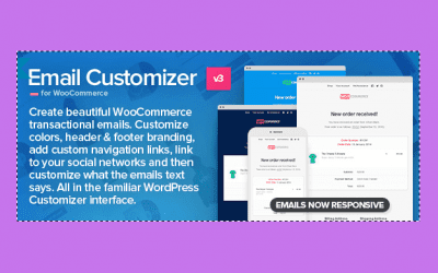 Email Customizer for WooCommerce  – Personnalisez vos Email