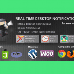 WooCommerce Real Time Desktop notifications – Notification en temps réel pour WooCommerce