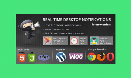 WooCommerce Real Time Desktop notifications – Notification en temps réel pour WooCommerce