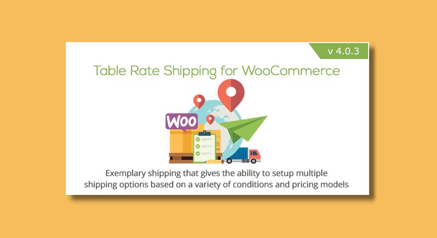 On a testé : Table Rate Shipping for WooCommerce (réglage des frais de livraison avancé)
