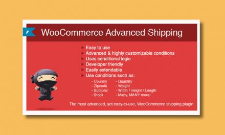 WooCommerce Advanced Shipping -Plugin de gestion des frais de livraison