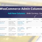 Plugin WooCommerce :WooCommerce Admin Columns Add-On