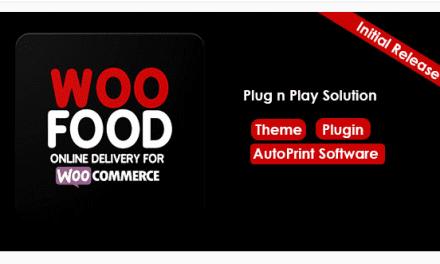 Plugin WooCommerce :WooFood – Plugin pour la restauration rapide et les livraison