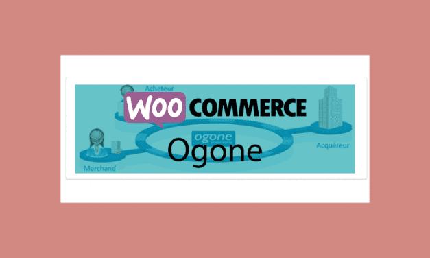 WOOCOMMERCE Ogone – Passerelle de paiement Ogone