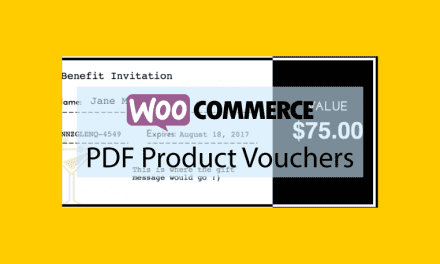 WOOCOMMERCE PDF Product Vouchers – Coupons au format PDF