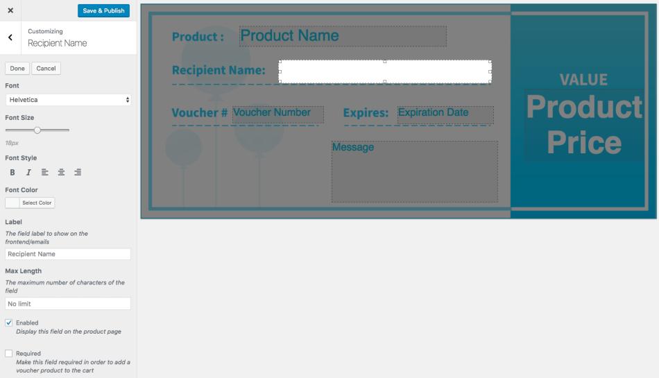 PDF Product Vouchers
