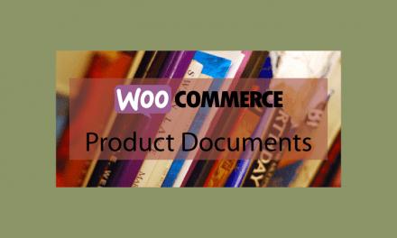 WOOCOMMERCEProduct Documents – Documentation produit
