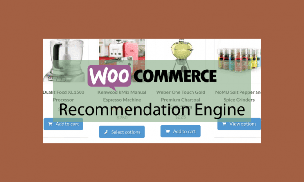 WOOCOMMERCERecommendation Engine – Recommander des produits