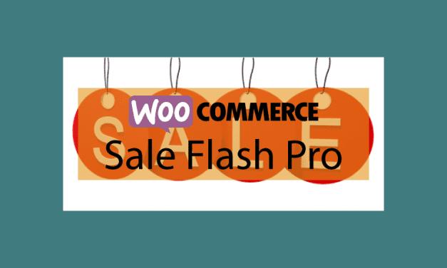 WOOCOMMERCESale Flash Pro – Vente flash