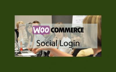 WOOCOMMERCESocial Login – Connectez-vous avec Facebook, Twitter, Google, Amazon, etc.