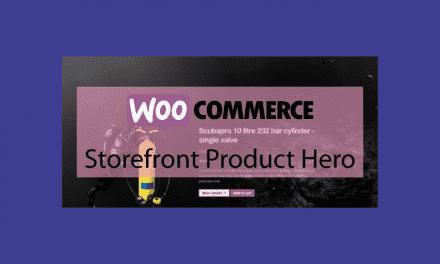 WOOCOMMERCEStorefront Product Hero -Mettez en valeur vos produits