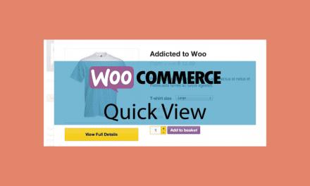 WOOCOMMERCEQuick View – Produit en aperçu
