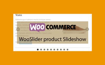 WOOCOMMERCE WooSlider product Slideshow Extension – Diaporama de produits