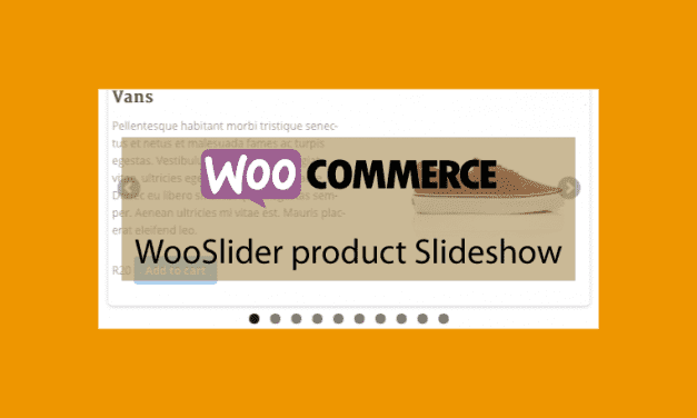 WOOCOMMERCE WooSlider product Slideshow Extension – Diaporama de produits