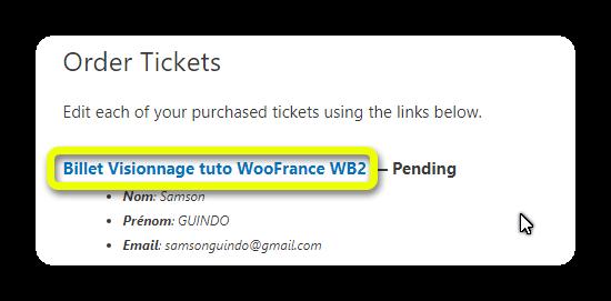 edit ticket