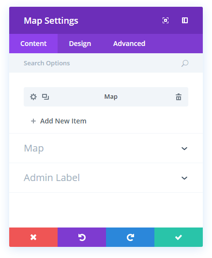 map-content-settings