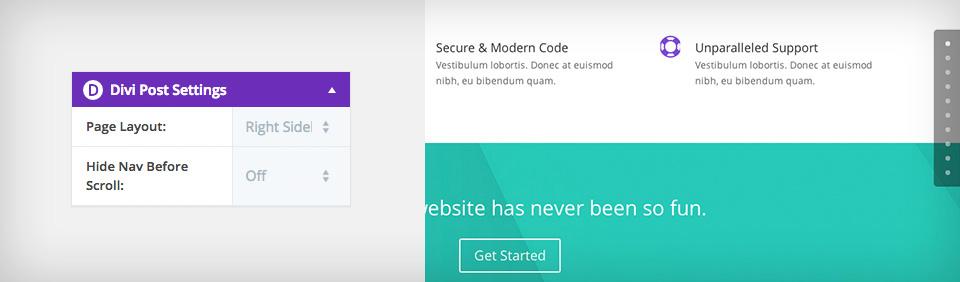 Comment créer une site web one page avec Divi
