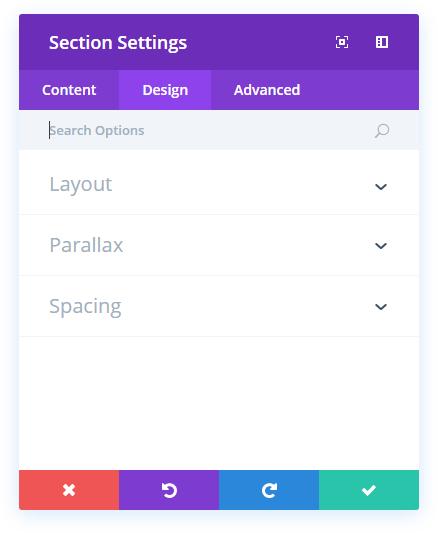 section-design-settings