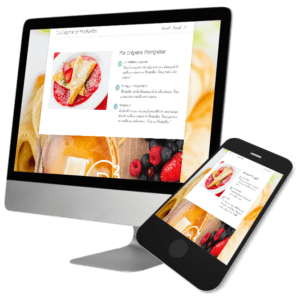Theme WordPress-Woocommerce – Free Divi Layout -Gratuit – Crêperie Montpellier