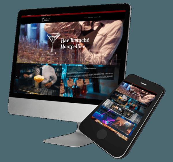 Theme WordPress-Woocommerce – Free Divi Layout -Gratuit – Template Bar